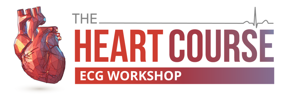 The Heart Course ECG Workshop Logo